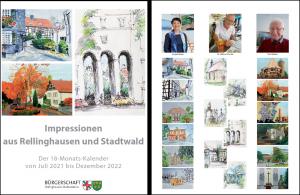 Vernissage im Blücherturm zur Vorstellung unseres Kalenders 2021/2022 @ Blücherturm